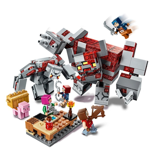 21163 LEGO Minecraft The Redstone Battle
