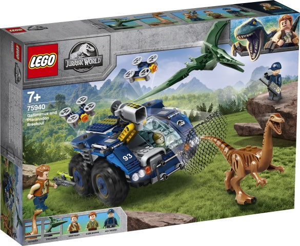 75940 LEGO Jurassic World Gallimimus and Pteranodon Breakout