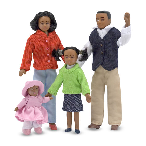 2689 Melissa & Doug Victorian Doll Family - African-American