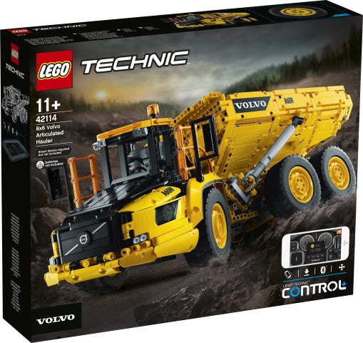 42114 LEGO Technic 6x6 Volvo Articulated Hauler