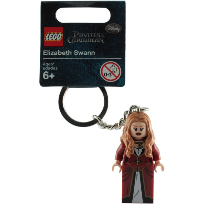 853188 LEGO Pirates of the Caribbean Elizabeth Swann Keychain