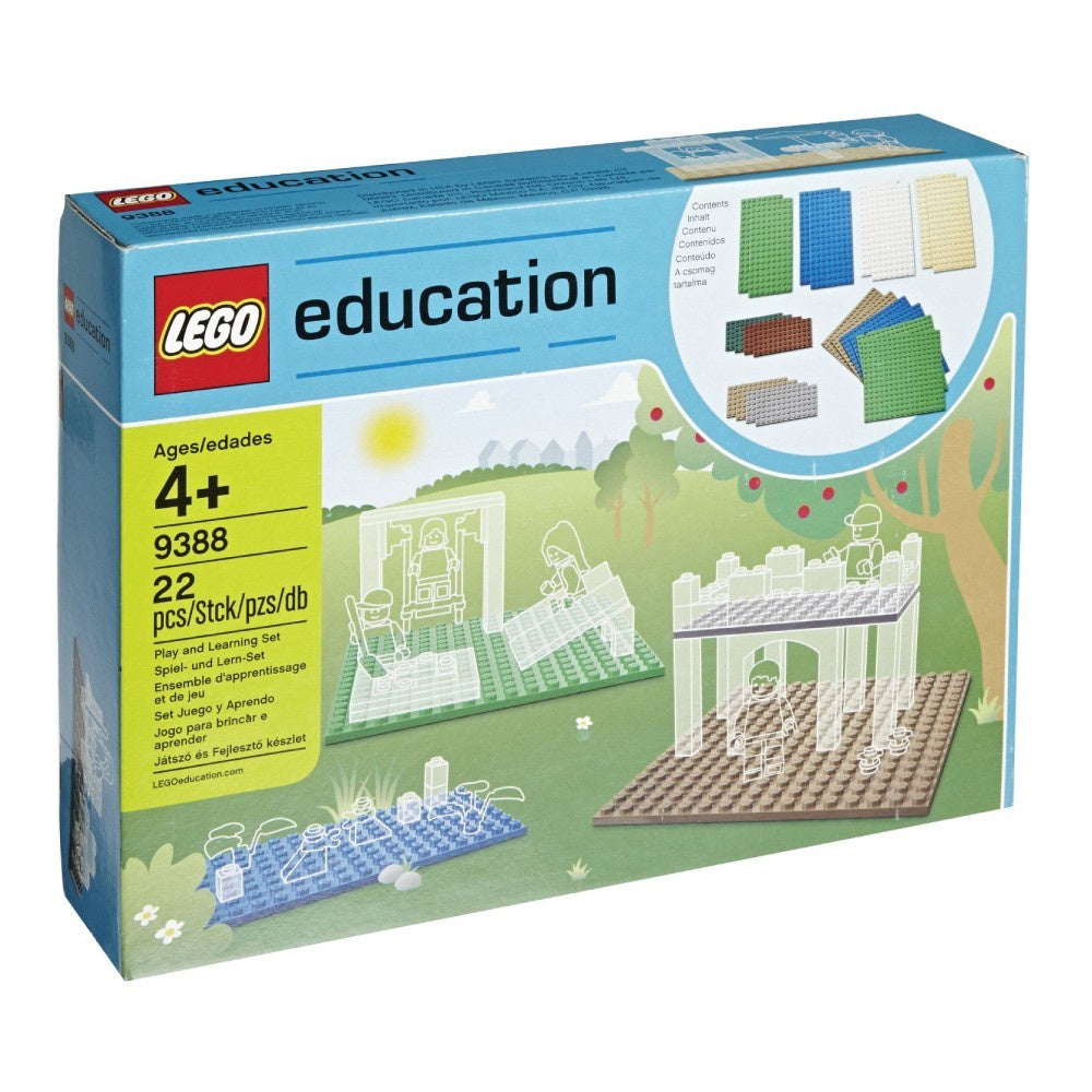 9388 LEGO Education Small Building Plates Set