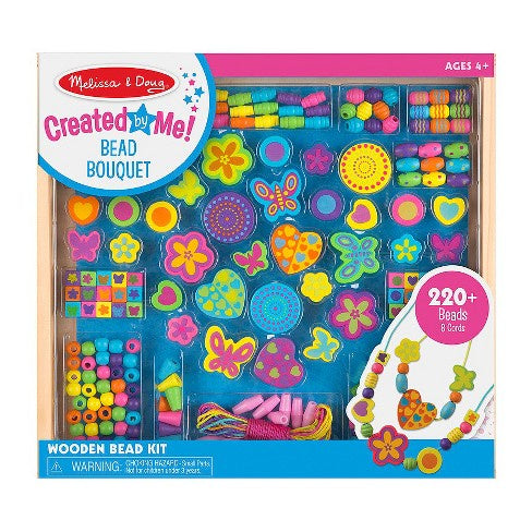 4169 Melissa & Doug Bead Bouquet Deluxe Wooden Bead Set