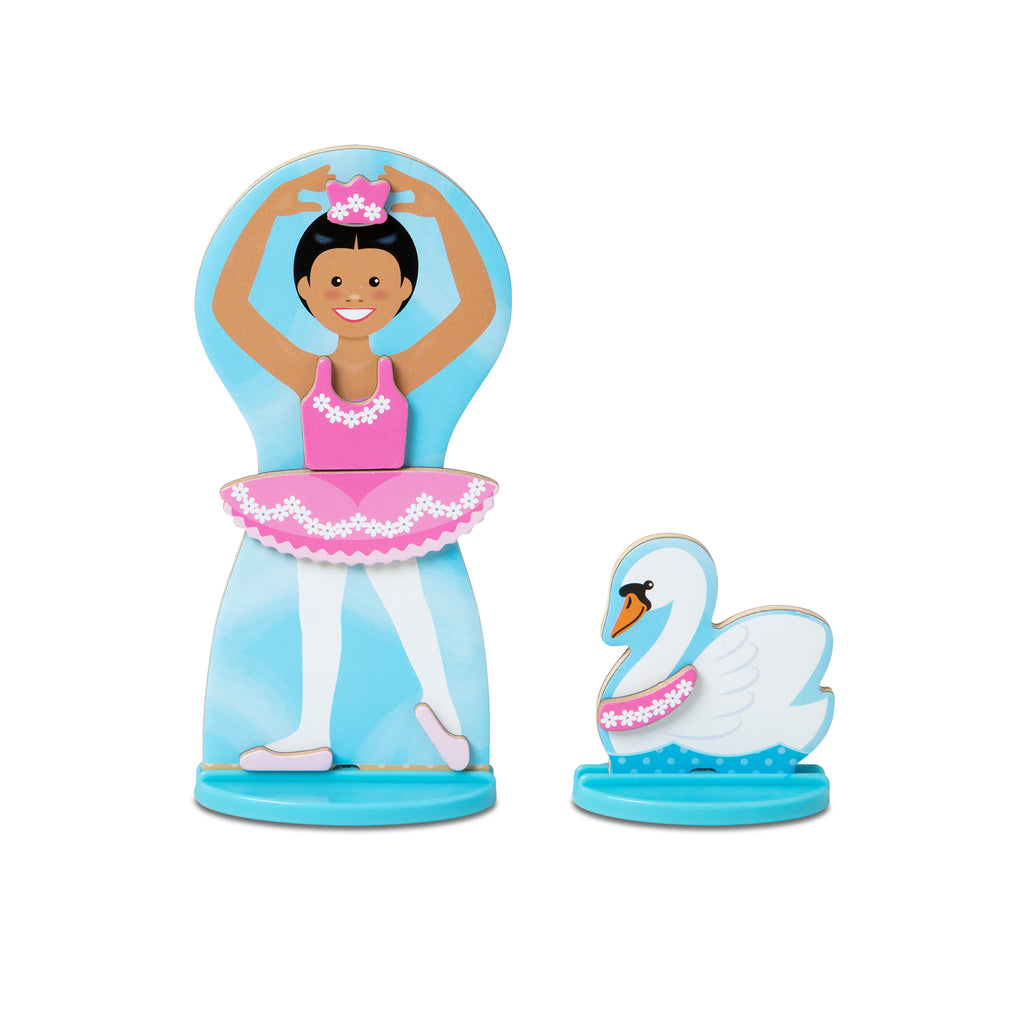 30322 Melissa & Doug Ballerina Fairy Magnetic Dress up