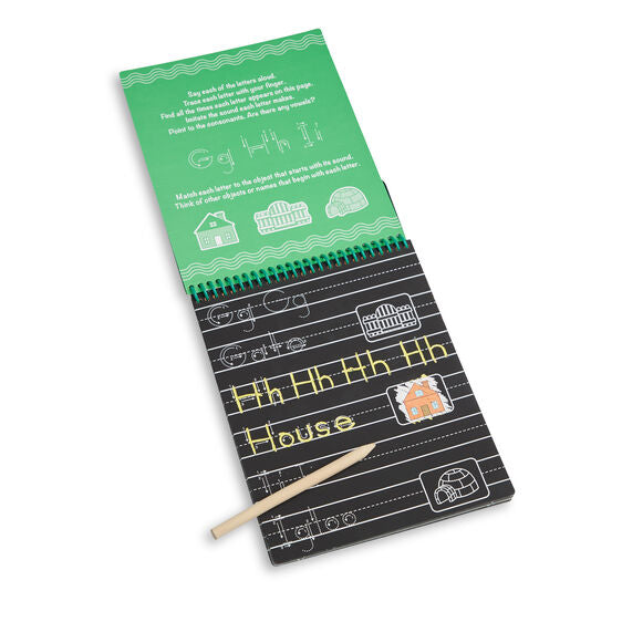 30513 Melissa & Doug Scratch Art - ABC & 123 Writing Pad