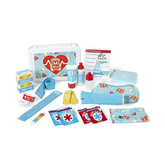 30601 Melissa & Doug Get Well First Aid Kit Play Set