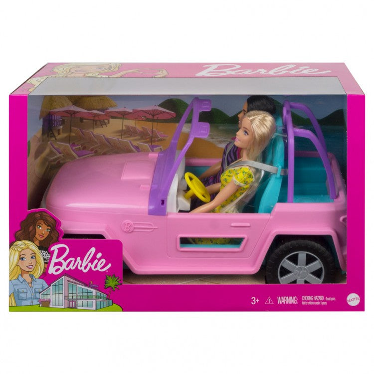 Barbie & Friend Vehicle