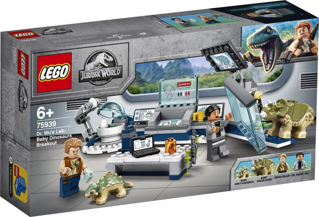 75939 LEGO Jurassic World Dr. Wu's Lab: Baby Dinosaurs Breakout