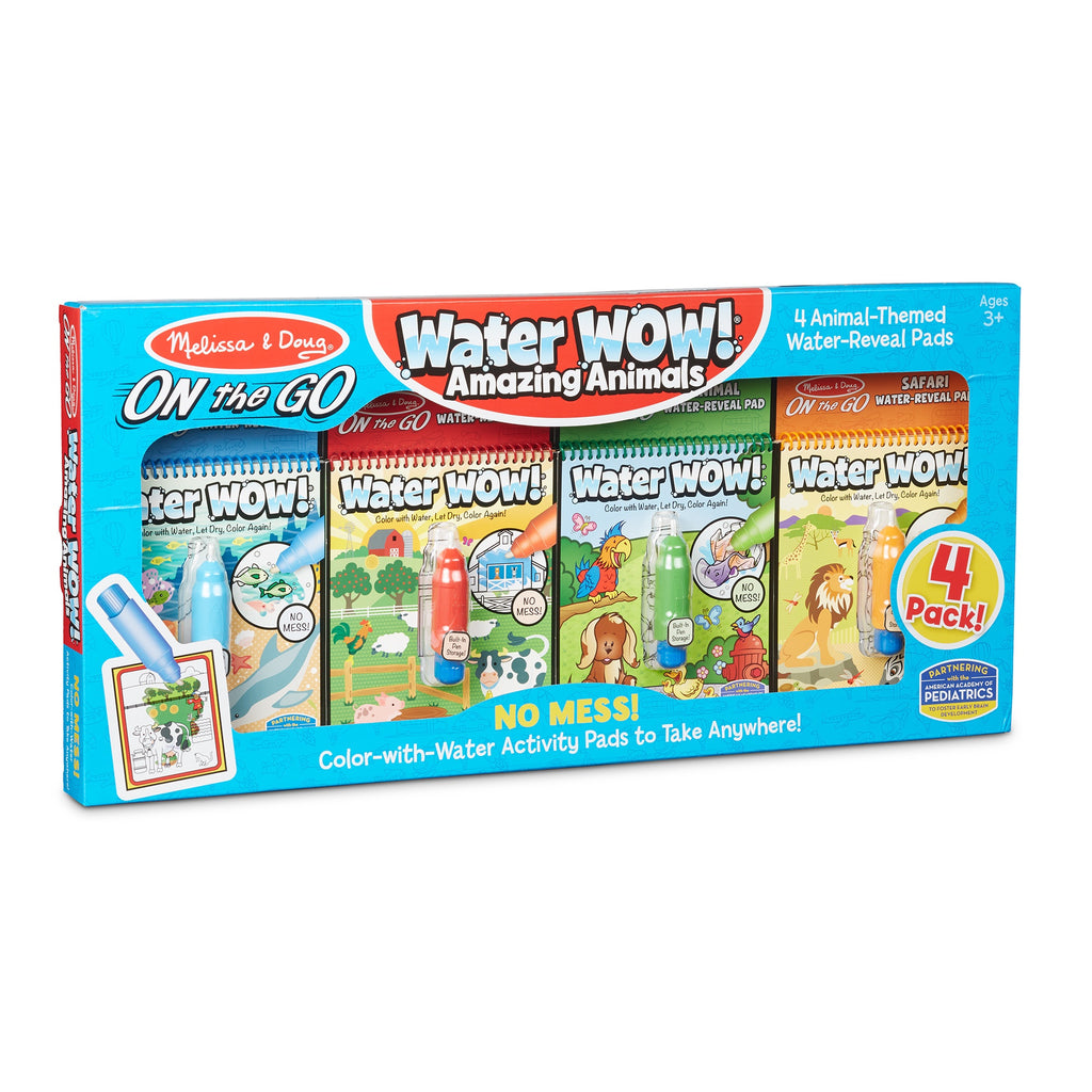31952 Melissa & Doug Water Wow Amazing Animals