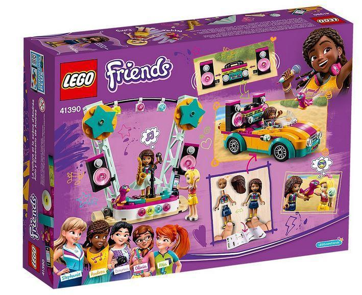 41390 LEGO Friends Heartlake City Andrea's Car & Stage