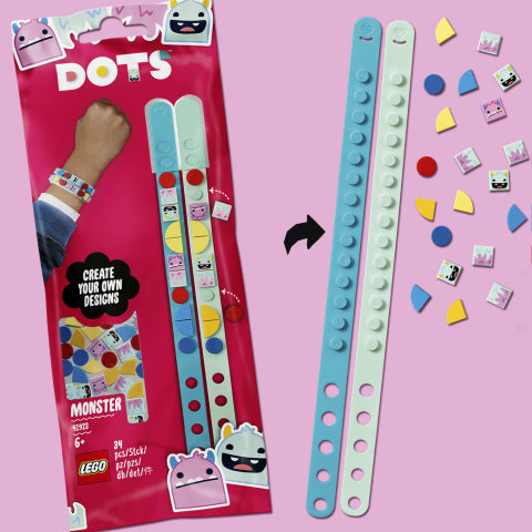41923 LEGO DOTS Monster Bracelets