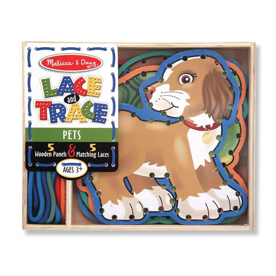 3782 Melissa & Doug Lace and Trace Pets