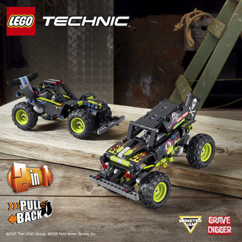 42118 LEGO Technic Monster Jam Grave Digger
