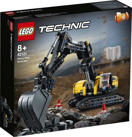 42121  LEGO Technic Heavy-Duty Excavator