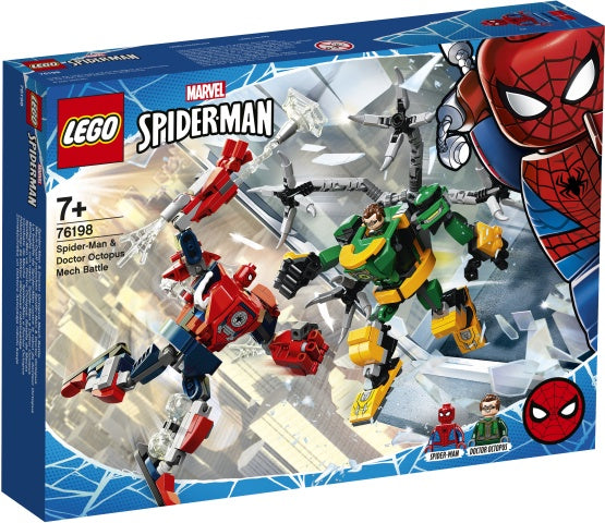 76198 LEGO Super Heroes Spider-Man & Doctor Octopus Mech Battle
