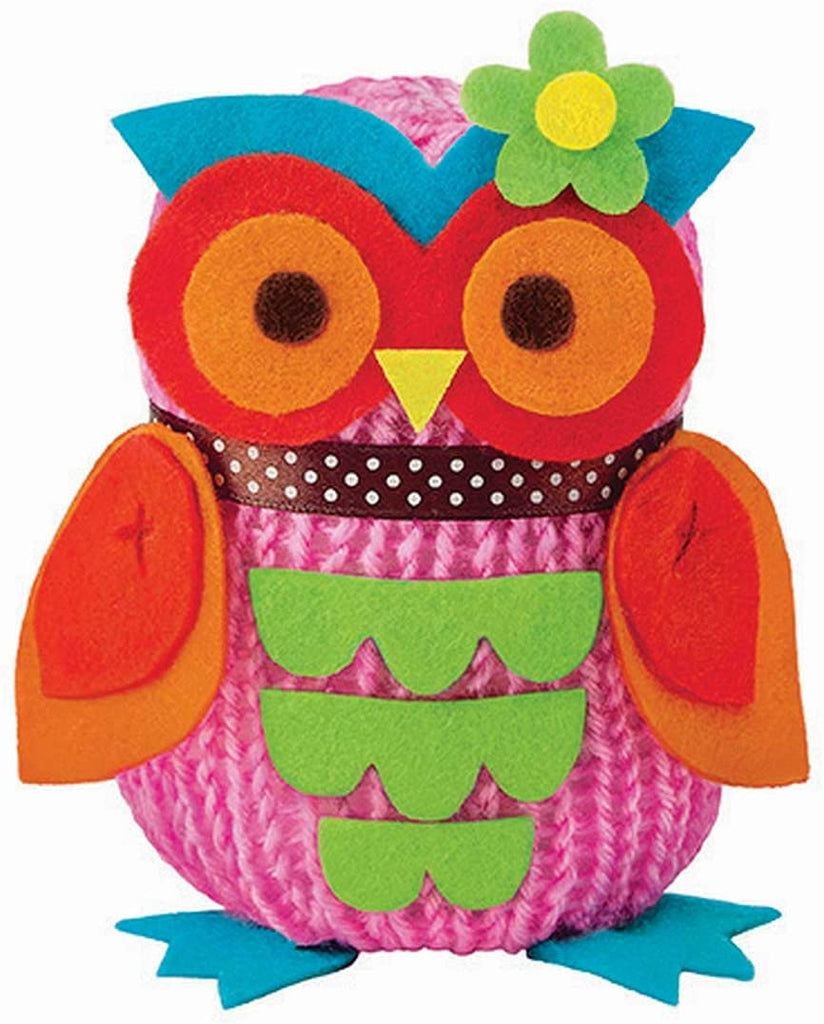 4M French Knitting Owl Doll