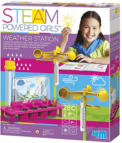 4M STEAM Powered Girls Weather Station