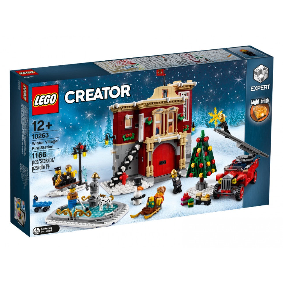 10263 LEGO Creator Expert Winter Village Fire Station