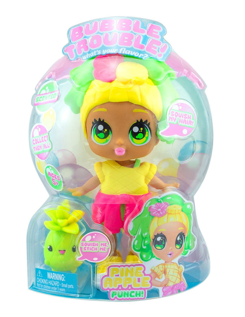 Bubble Trouble Doll - Pineapple Punch