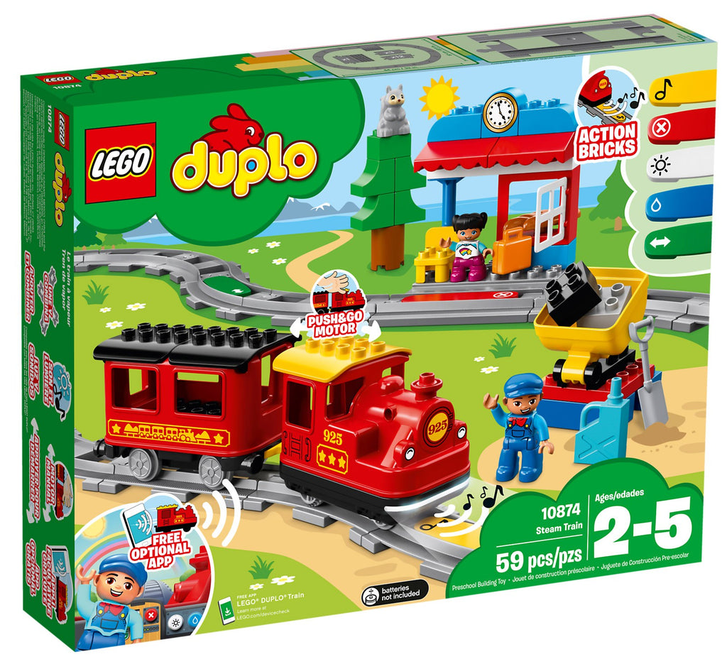 10874 LEGO DUPLO Steam Train
