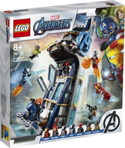 76166 LEGO Super Heroes Avengers Tower Battle
