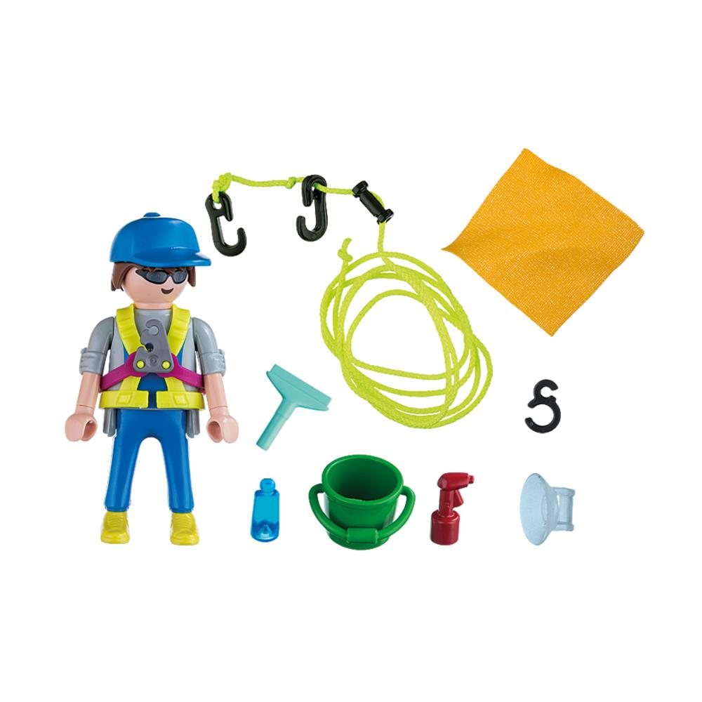 5379 Playmobil Window Cleaner