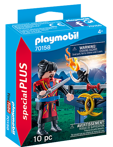 70158 Playmobil Warrior