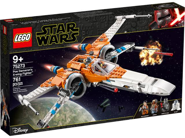 75273 LEGO Star Wars The Rise of Skywalker Poe Dameron's X-wing Fighter