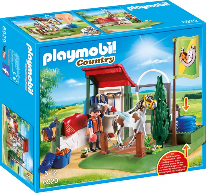 6929 Playmobil Grooming Station