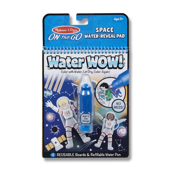 30178 Water Wow! Space Water-Reveal Pad - On the Go Travel Activity
