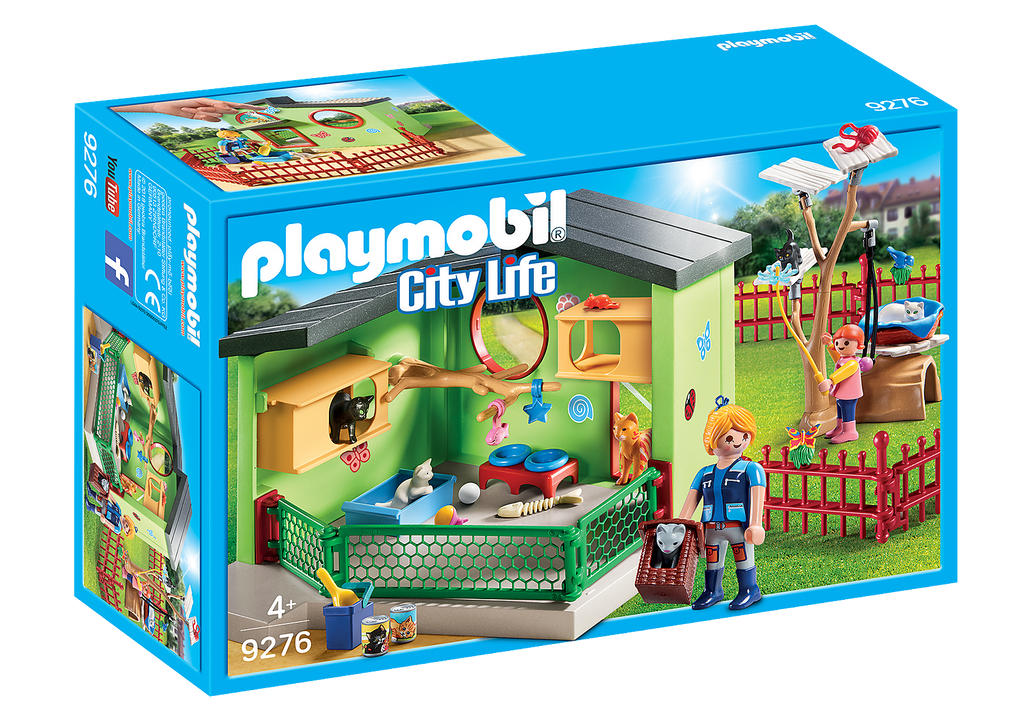9276 Playmobil Purrfect Stay Cat Boarding