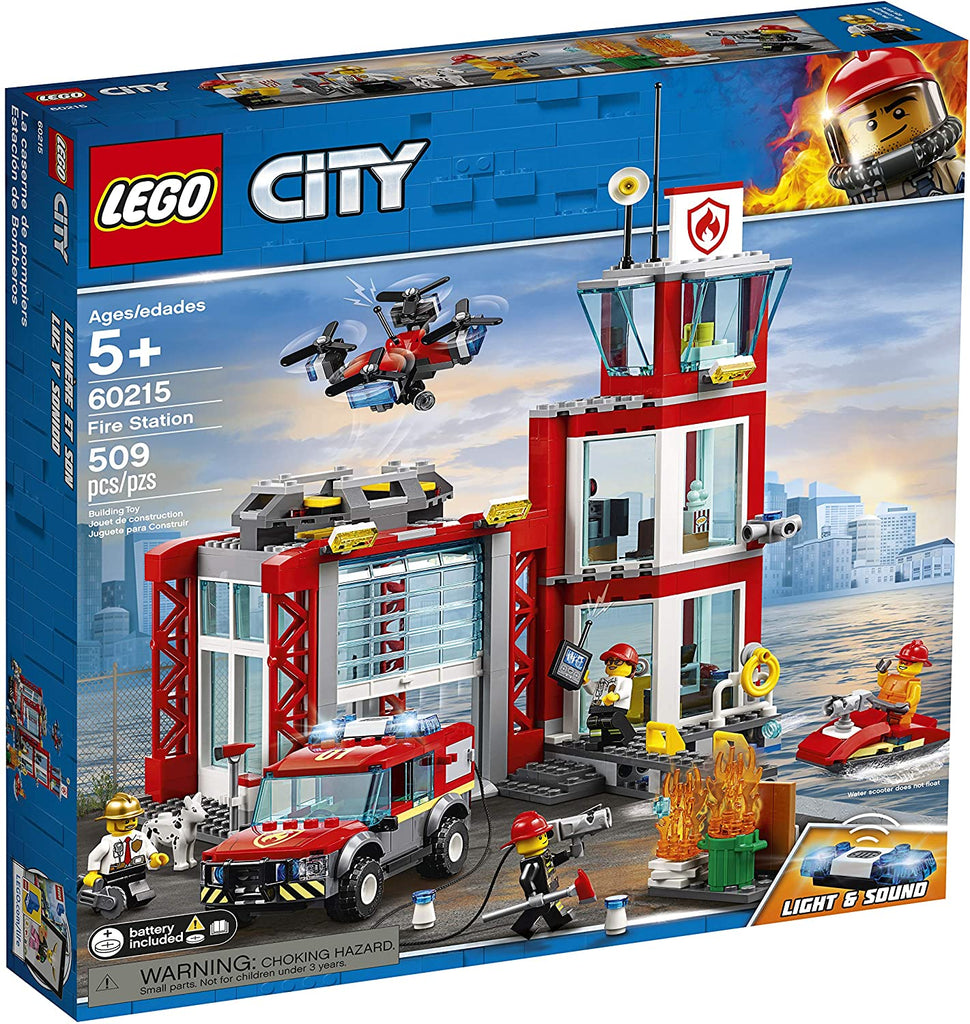 60215 LEGO City Fire Fire Station