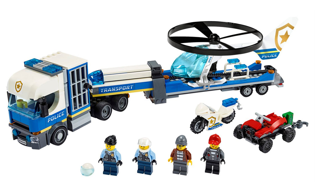 60244 LEGO City Police Helicopter Transport
