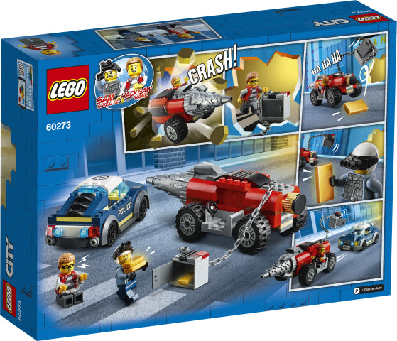60273 LEGO City Elite Police Driller Chase