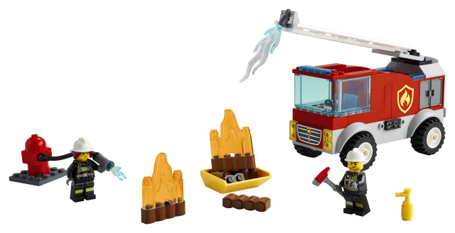 60280 LEGO City 4+ Fire Ladder Truck