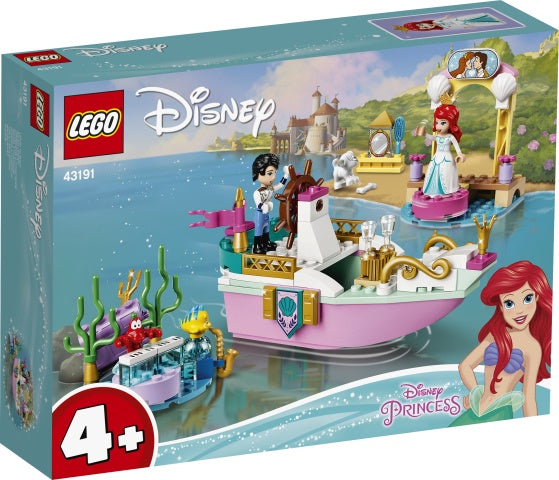 43191 LEGO Disney Princess 4+ Ariel's Celebration Boat