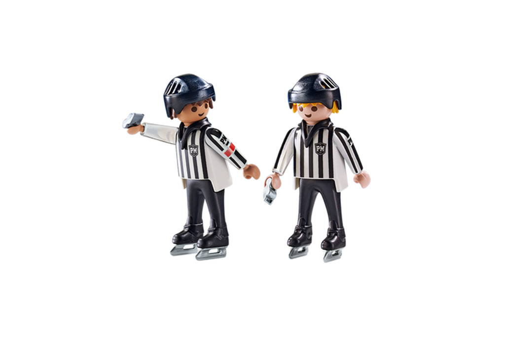 6191 Playmobil Ice Hockey Referees