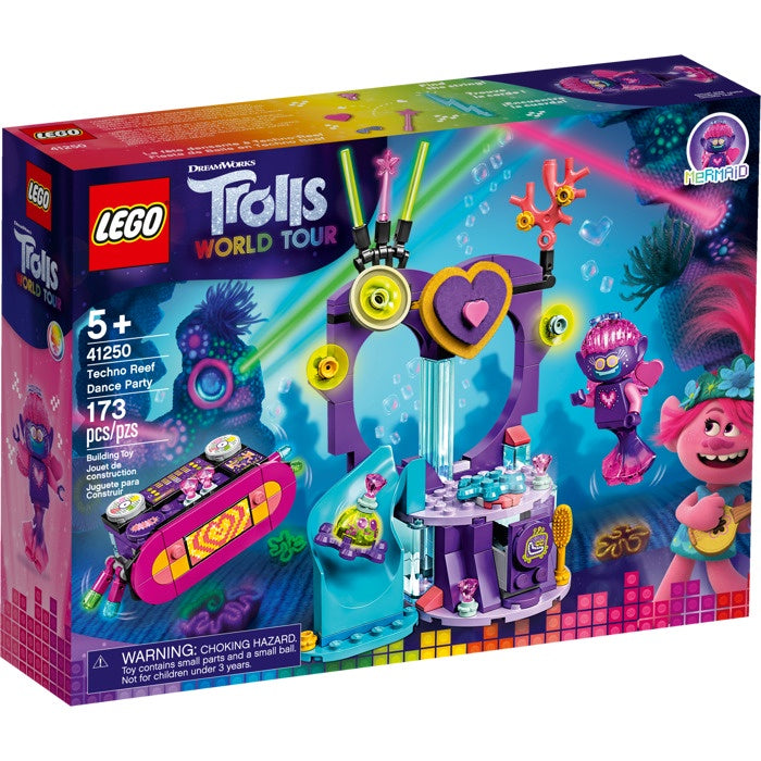 41250 LEGO Trolls World Tour Techno Reef Dance Party