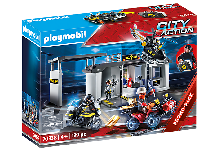 70338 Playmobil Take Along Tactical Unit Headquarters