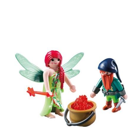 6842 Playmobil Elf and Dwarf Duo Pack