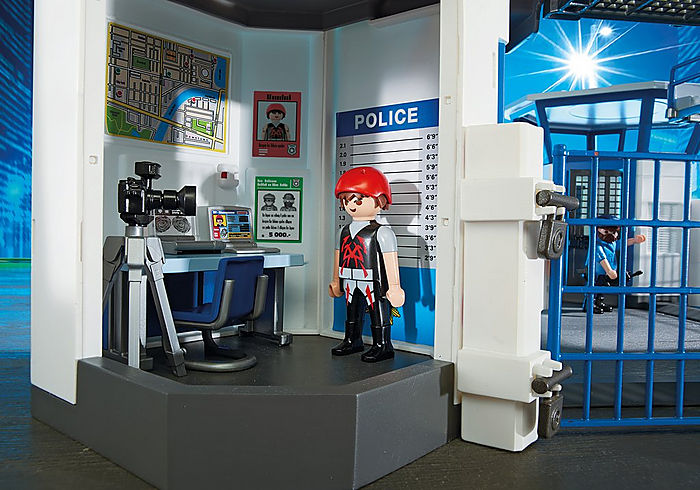 6919 Playmobil Police Headquarters with Prison