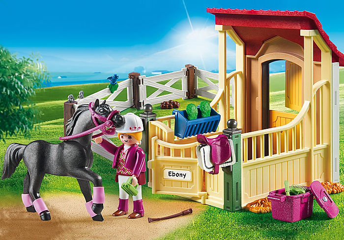 6934 Playmobil Horse Stable with Araber