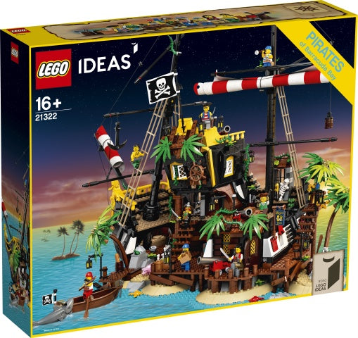21322 LEGO Ideas Pirates of Barracuda Bay