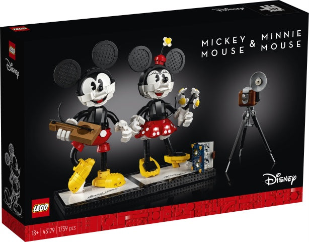 43179 LEGO Disney Mickey Mouse & Minnie Mouse Buildable Characters