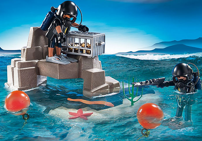70011 Playmobil SuperSet Tactical Dive Unit