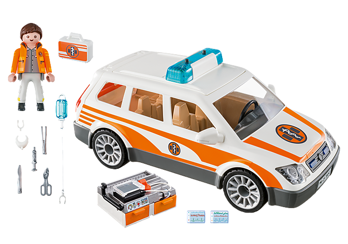70050 Playmobil Emergency Car with Siren