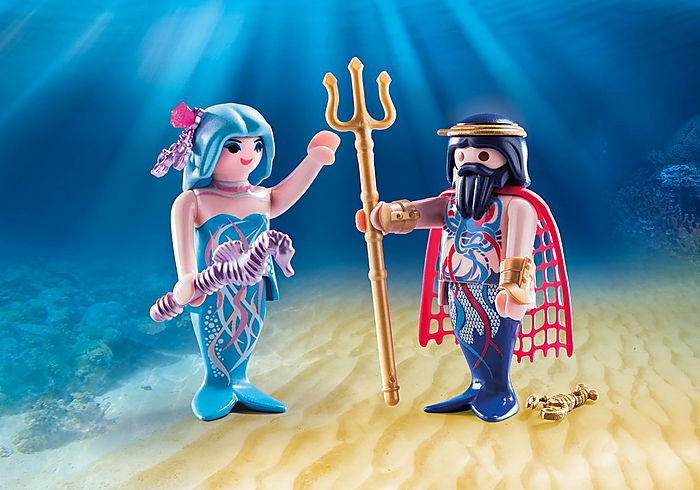 70082 Playmobil Sea King and Mermaid