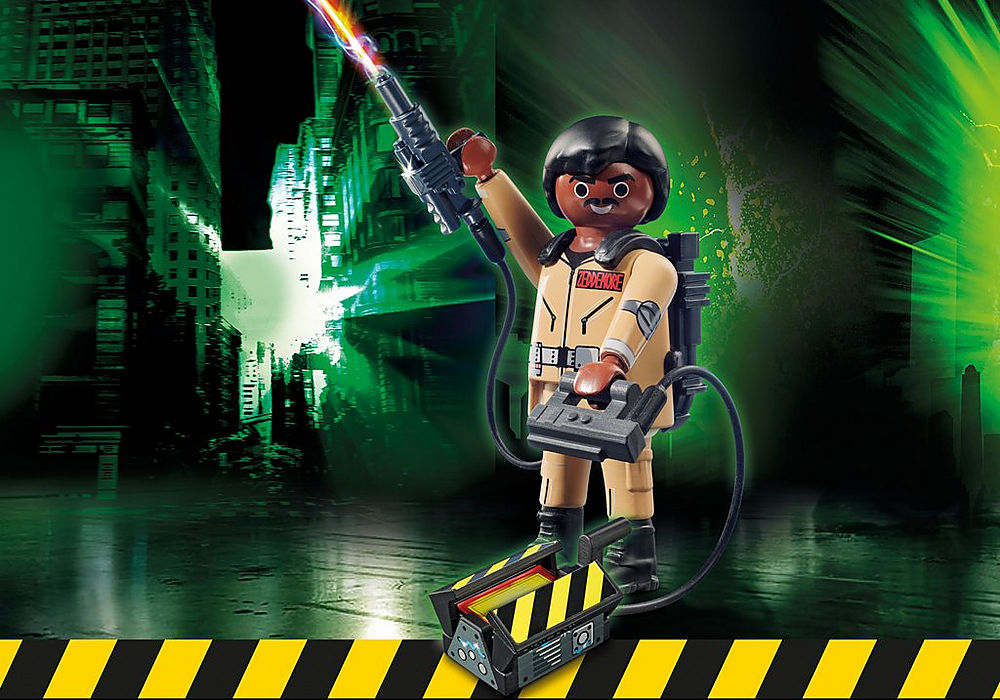 70171 Playmobil Ghostbusters Collection Figure W. Zeddemore