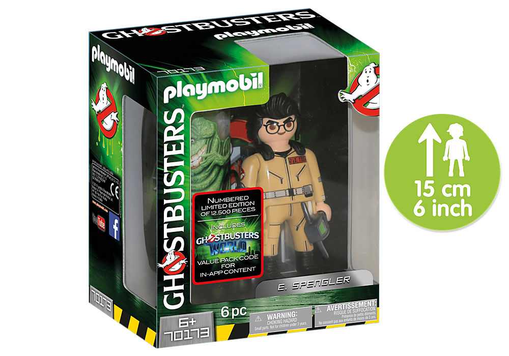 70173 Playmobil Ghostbusters Collection Figure E. Spengler
