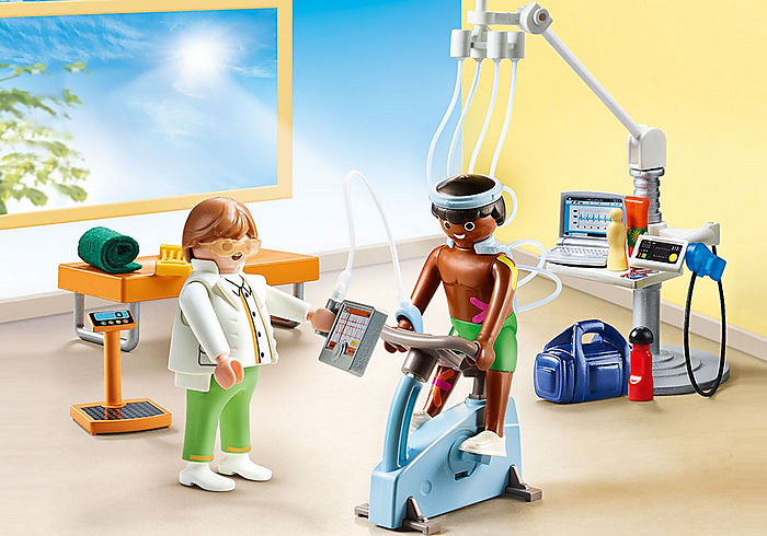 70195 Playmobil Physical Therapist